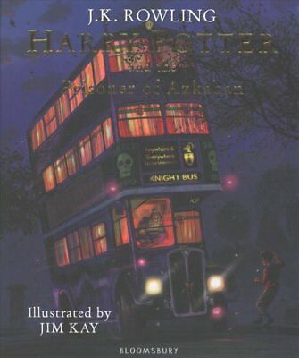 Harry Potter and the Prisoner of Azkaban: Illustrated Edition by J. K....