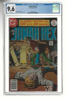 DC Comic's Jonah Hex #1 – 1977 CGC 9.6 White Pages