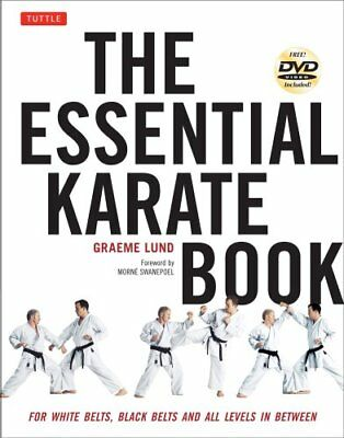 Essential Karate Book For White Belts, Black Belts and All Leve... 9784805312971