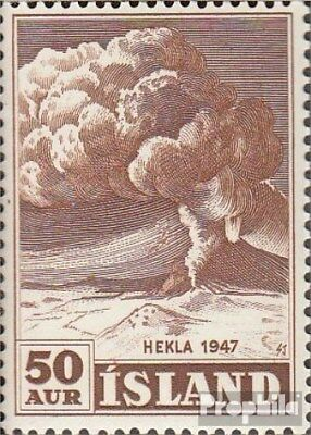 Iceland 250a unmounted mint / never hinged 1948 Heklaausbruch