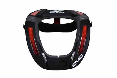 EVS Sports R4K-BK-A Race Collar Black - Adult