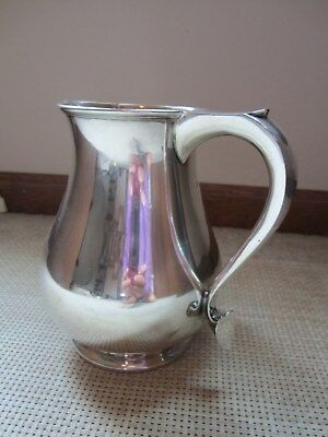 Walter H. Willson Vintage English Sterling Silver Cream Pitcher