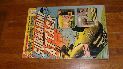 Submarine Attack #17, 1959 Charlton War Comic