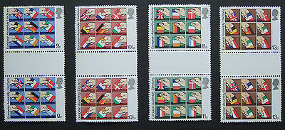 GB 1978 - European Elections. Set of gutter pairs (SG1083 -1086)