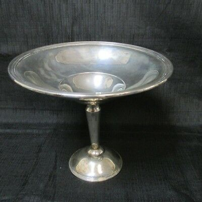 Rogers Weighted Sterling Silver 7'' Compote Dish