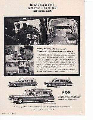 S & S Ambulance For 1968 Serves Your Needs    Ad             7154