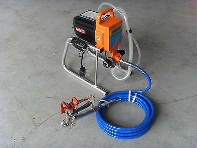 AIRLESS PAINT SPRAYER NEW 240  V ct0036 REDUCED 5 ONLY AT £199