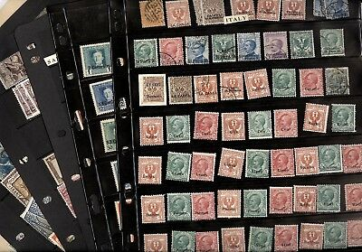 ITALIAN OFFICES, SAN MARINO, ETHIOPIA, Excellent Accumulation of Stamps in