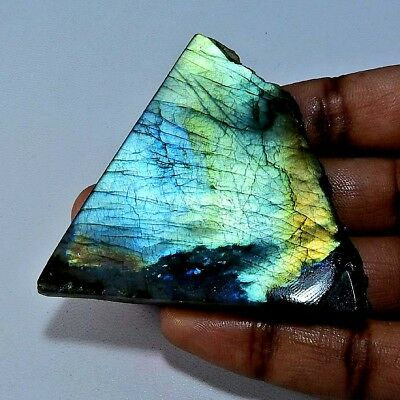 256.95cts. Natural Multi labradorite Rough Gemstone;#95908