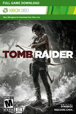 Tomb Raider Full Game Xbox Live Download Card [M] (Xbox 360)