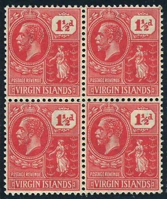Br Virgin 56 block/4.MNH.Michel 61a. Colony Seal,1927.King George V.