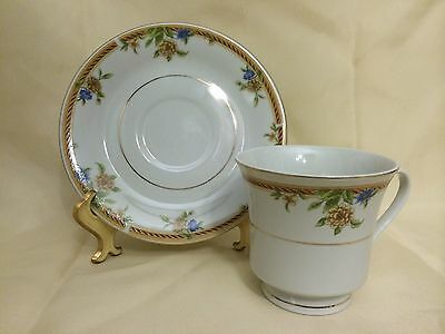 Truly Tasteful Beautiful Fine China Cup and Saucer