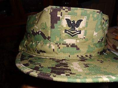 AOR2 8 POINT COVER HAT NWU Type III DIGITAL GREEN Navy Seal EOD SIZE 6 7/8  NWT