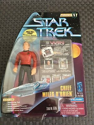 Star Trek Actionfigur Chief Miles O'Brien Stock Nr. 65106 Warp Factor Series 1