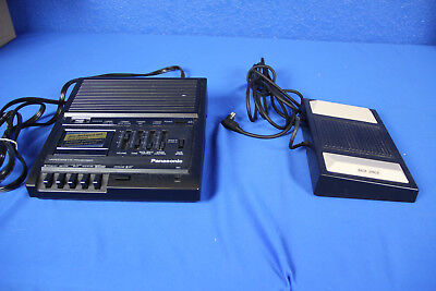 Panasonic Microcassette Transcriber With Foot Peddle (RR-930 / RP-2692) w/earbud