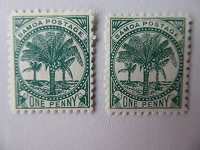 Samoa 1895 m/mint selection
