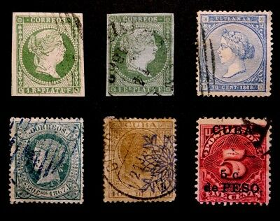 Spanish Colonies: 19Th Century Stamp Collection