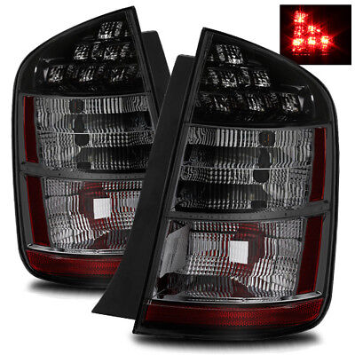 For 04-05 Toyota Prius Smoke Left/Right LED Tail Lights Rear Brake Lamp Assembly