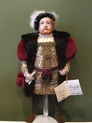 Henry VIII Royal Heritage Antique China Doll,collectors Piece, Limited Edition