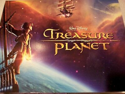 Disney Treasure Planet - 4 Lithograph Set - Exclusive Commemorative Art