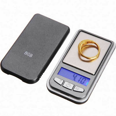 0.01g -200g LCD Ultrathin Jewelry Drug Digital Portable Pocket Scale