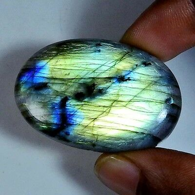 Multi labradorite Pendant bead Gems Front to back drill Oval 72.60cts.;#95020