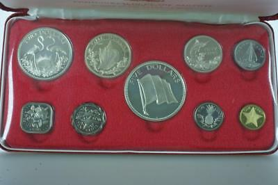 1974 Commonwealth of the Bahamas Coinage Proof Set with Case & Certificate PK93