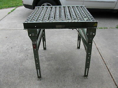 """Used 1"""" steel Ball Transfer Table 36""""x36""""x36"""" rexnord brand commercial grade"""