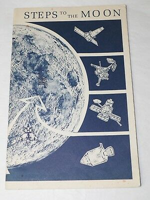 STEPS TO THE MOON US Dept. Of Interior booklet 1972