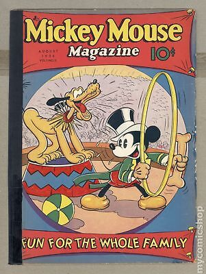 Mickey Mouse Magazine Vol. 1 #11 1936 FR 1.0 RESTORED
