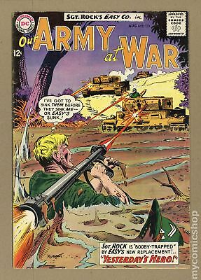 Our Army at War #133 1963 VG 4.0