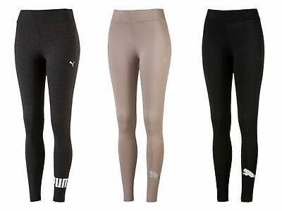 PUMA Damen ATHLETIC Logo Leggings Hose Pants Fitnesshose