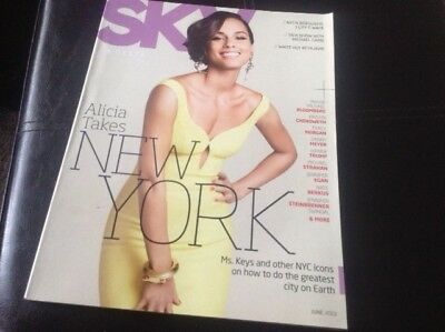 Airline Inflight Magazine - Delta Air Lines - June 2013 Alicia Keys New York