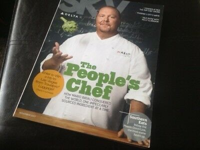 Airline Inflight Magazine - Delta Air Lines - Nov 2013 Mario Batali