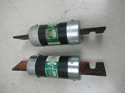 Lot of 2 Fusetron FRN-R 600 Dual Element Time Delay Current Limiting Fuses RK5
