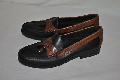 31f7df6153b COLTER CREED HS TRASK mens 9 1 2 LOAFER slip on LEATHER dress casual SHOES