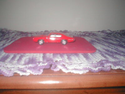 Diecast 1968 Pontiac Gto, 1:43 Scale, Mfr. Ertl, Used, In Excellent Shape, Red.
