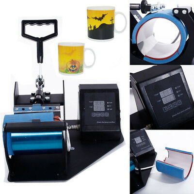 Cup Coffee Mug Heat Press Machine Transfer Sublimation DIY Print Pattern 11oz