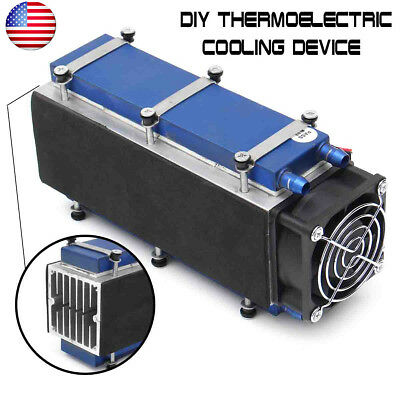 8-Chip 12V 576W TEC1-12706 DIY Thermoelectric Cooler Radiator Air Cooling Device