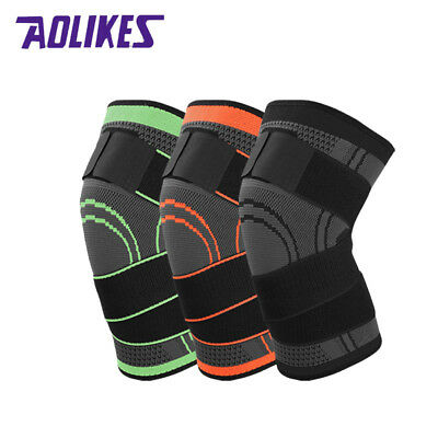 AOLIKES Knee Sleeve Knee Pads Compression Support Joint Pain Arthritis Relief US