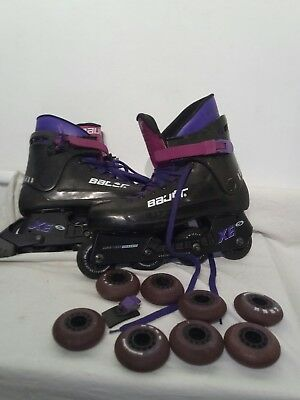 Bauer Inline Mens Skates Spare Or Repair Size 10 ref st