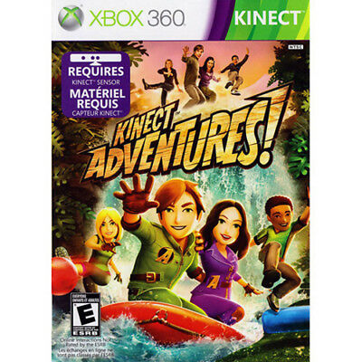 Kinect Adventures  Microsoft XBOX 360 Game  DISC ONLY
