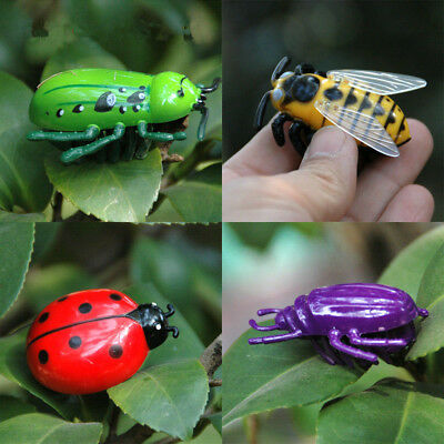 Cat Toys Teaser Interactive Pet Beetle Cicada Auto Electric Walking Insect Gift