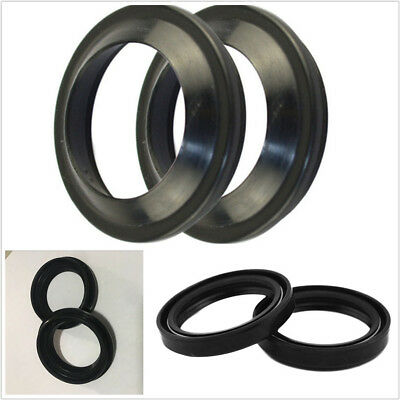 4 X Black 41x54x11mm Motorcycle ATV Front Fork Damper Absorber Oil&Dust Seal Kit