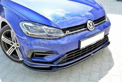 Facelift Golf 7 R R-Line Front Diffusor Lippe Spoilerlippe Frontansatz VW VII