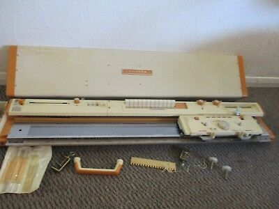 Vintage Toyota Knitting Machine KS 787 Manual - + Accessories - Travel Case