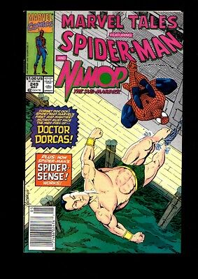 Marvel Tales Featuring Spider-Man And Namor Us Marvel Comic Vol.1 # 249/'91