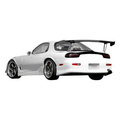 For Mazda RX-7 93-95 M-Speed Style Fiberglass Wing Trunk Lid Spoiler Unpainted
