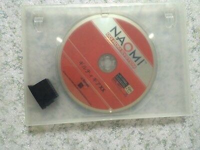 NAOMI GD-ROM Guilty Gear XX DVD ROM w/security chip
