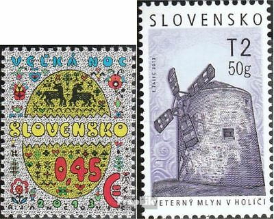Slovakia 702,706 (complete.issue.) unmounted mint / never hinged 2013 Easter, Mo